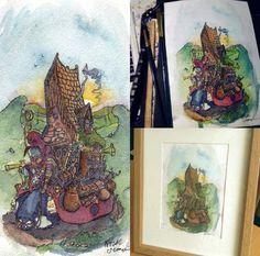 Home upon a ladybug - Fergal O& Connor (me! Sketch 4, Ladybug, Funny Jokes, Painting, Inspiration, Art, Biblical Inspiration, Art Background, Funny Pranks