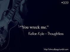 Kellan Kyle from Thoughtless by S. C. Stephens