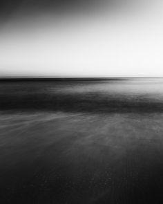 long exposure black & white ocean photography by tricia mckellar