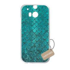 Buy Diy Customized Cell Phone Case for Mermaid Scales White HTC One M9 Hard Back Cover Shell Phone Case (Fit: HTC One M9) NEW for 1.98 USD | Reusell