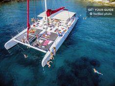Split: Full-Day Catamaran Cruise to Hvar & Pakleni Islands - Split, Croatia Sailing Cruises, Crystal Clear Water, Catamaran, Free Time, More Photos, Old Town, Fun Activities, Around The Worlds, Swimming