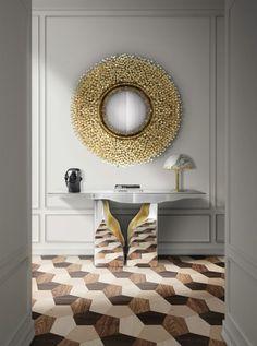 Luxus Geschenke Ideen für Wohndesign Liebhaber | Lapiaz Konsole von Boca de Lobo | www.bocadolobo.com
