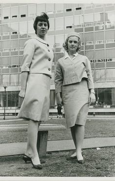 Nursing students in 1964; photo for NYU by Stanley Seligson.