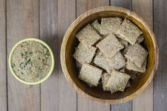 Garlic Rosemary Plantain Crackers | Autoimmune Paleo No Nuts. Not GAPS Friendly AIP Friendly.