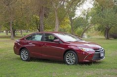 2015 Camry location shot at the Kern River
