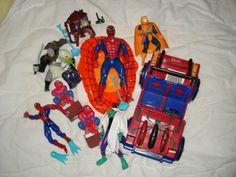 Satsi ehjiä Spiderman juttuja 10 euroa