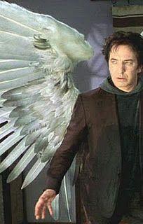 Alan Rickman in Dogma. Metatron.                                                                                                                                                      More