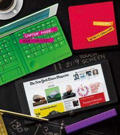 'flexbook' tablet concept by hao-chun huang