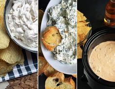 Get all of Alton Brown's dip recipes in one place including: Onion Dip, Hot Spinach and Artichoke Dip, Queso and more.