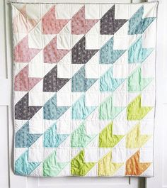 So basteln Sie ein Quilt-Muster für Cricut Maker - My Quilt Ideas Easy Quilts, Mini Quilts, Owl Quilts, Star Quilts, Cricut, Arrow Quilt, Baby Quilt Patterns, Chevron Baby Quilts, Chevron Quilt Pattern