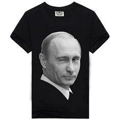 Vladimir Putin Cool Graphic T Shirts For Men L. Made Of 100% Cotton,Casual Tee For Mens,Nature Comfortable&breathable. None Us Size,Please check the size chart for reference find the perferct size for you(see the last picture or description). Fashion style,crewneck(O-round neck) Short sleeve Tee,Good For Sports,Party,Travel etc. Cool Graphic Tee Design,with Unique 3D digital printing process,make to last,fashionable. Vivid Printed Pattern:Vladimir Putin,Rock and roll tee shirts,very…