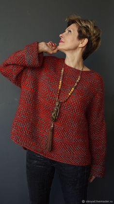 Knitting Wool, Knitting Patterns, Jumpers For Women, Sweaters For Women, Sweater Coats, Vintage Crochet, Sweater Weather, Knit Dress, Knitwear