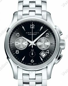 Hamilton | American Classic Jazzmaster Auto Chrono | Steel | Watch database watchtime.com