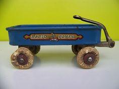 Radio Flyer Wagon Vintage 1933 34 Chicago Worlds Fair Souvenir