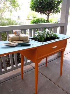 nuevo diseño con la mesa de la maquina de coser