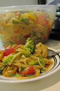 A'lil Country Sugar: A Must: Spaghetti Salad