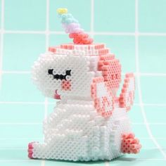 18 Fun And Exciting Perler Beads Ideas To Boost Your Creativity Perler Beads Pegboard, Diy Perler Beads, Perler Bead Art, Pearler Beads, Fuse Beads, Easy Perler Bead Patterns, Melty Bead Patterns, Bead Embroidery Patterns, Beading Patterns Free