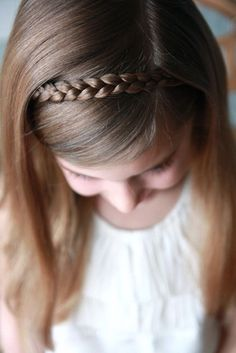 i always do this hairstyle for school