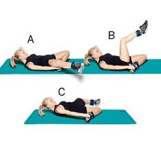 Cross & kick - Get her tried-and-true workouts for a flat belly