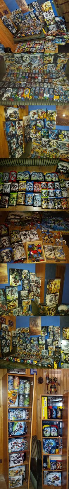 After 16 years, I finally complete my collection of Bionicle Generation 1