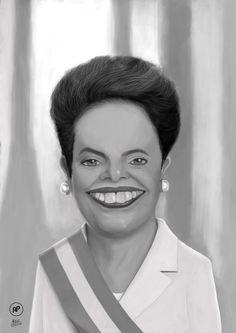 Dilma Caricature by Souzafeb.deviantart.com on @DeviantArt