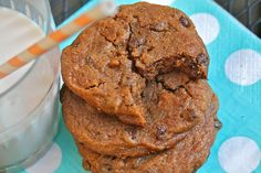 Better For You Chocolate Chip Cookies (grain free, gluten free, dairy free, refined sugar free) #CupcakesOMG