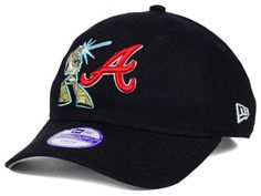 Atlanta Braves Luke Skywalker New Era MLB Youth Star Wars 9TWENTY Cap