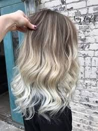Image result for silver balayage on light brown
