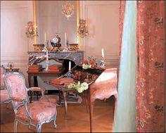 Madame de Pompadour's apartments at Versailles