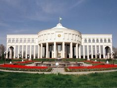 Oqsaroy - the Official Residence of the President of the Republic of Uzbekistan