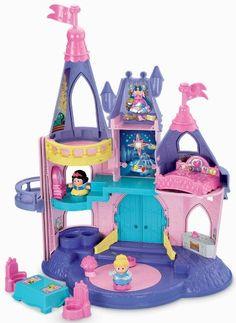 Little People Disney Princess Songs Palace Play Set