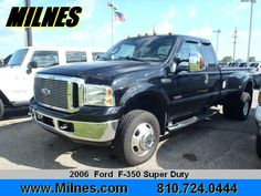 2006 Ford F350, 126,243 miles, $17,495.
