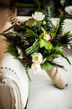 DillyLily Bouquet #wedding #woodland #organic