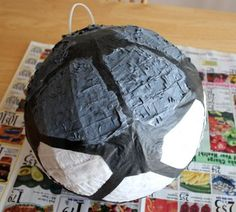 Death Star pinata - if I ever find the time to have a birthday party for Luke this year! can I host a birthday party a month late?