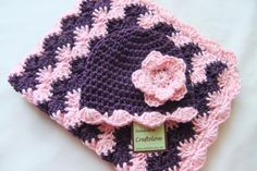 Baby Girl Shower Gift Set  Baby Girl Blanket  by craftolove, $54.99