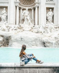 So many dreams, so many prayers, so many wishes hidden in Fontana di Trevi. Rome Photography, Travel Photography, Fashion Photography, Rome Travel, Italy Travel, Italy Trip, Travel Pictures, Travel Photos, Oh The Places You'll Go