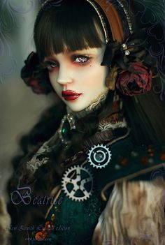 ":: Crafty :: Doll :: Steampunk :: laresinerie: "" * LIMITED EDITION * SOULDOLL Zenith Beatrice"