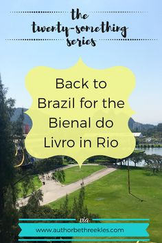 The Twenty-Something Series: Back to Brazil for the Bienal do Livro in Rio Brazilian Cocktail, Netflix Original Movies, Christ The Redeemer Statue, Kissing Booth, Trying To Sleep, Event Organiser, Netflix Originals, Writing Advice, Book Signing