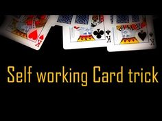 Four kings - Easy Self Working Card Trick revealed Card Tricks For Beginners, Easy Card Tricks, Easy Magic Tricks, Card Tricks Revealed, Bicycle Cards, Sleight Of Hand, Creative Photography, Funny Stuff, Deck