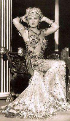 Mae West wearing a costume by Travis Banton, 1933