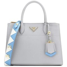 Prada Paradigme Handbag (22,045 GTQ) ❤ liked on Polyvore featuring bags, handbags, grey, prada bags, prada, handbag purse, grey handbags and gray purse