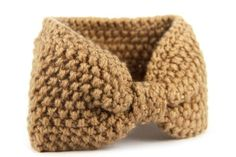 Bandeau en laine femme fashion