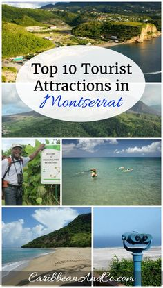 Find out the 10 top things to do in Montserrat known as the Emerald Isle of the Caribbean. The island is not only of the most unique in the Caribbean but also one of the friendliest and safest to travel to in the region. Caribbean Vacations, Caribbean Cruise, Amazing Destinations, Travel Destinations, British Overseas Territories, Emerald Isle, 10 Top, Island Beach, Beautiful Islands