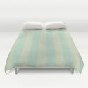 duvet cover pattern pastel green by Christine Baessler
