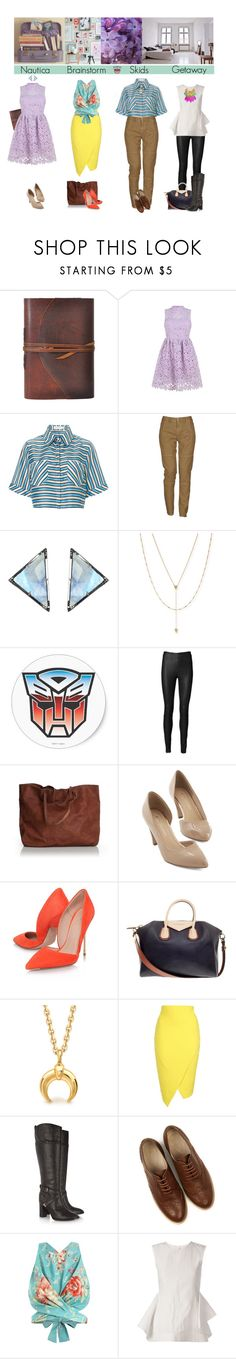 """mtmte #41: ""This is wonderful! And look! Reading! I can read upside down! I've always wondered if I could!"" —Nautica"" by femme-mecha ❤ liked on Polyvore featuring Tanya Taylor, Massimo Alba, ADORNIA, Jennifer Zeuner, By Malene Birger, Givenchy, Jane Norman, Tory Burch, Oasis and Zimmermann"