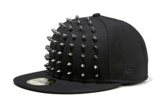 The MUSIUM DIV. X New Era Studded Cap Collection is a Modern Play on Medieval trendhunter.com
