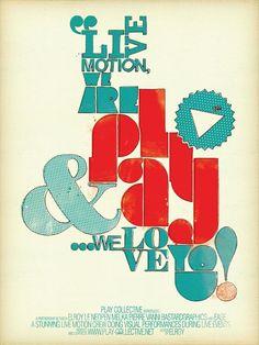 Typographie Conception d'affiche par Damien VIGNAUX