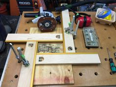 (1) Homemade MFS 600 router template