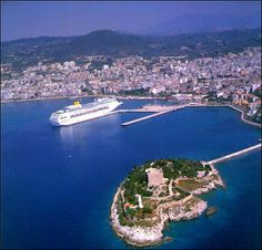 Kusadasi, Turkey. Very nice! Very very hot. Turkey is a pretty good place for a holiday, if you go along the coast that is.
