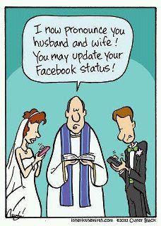 Funny Facebook Cartoon.